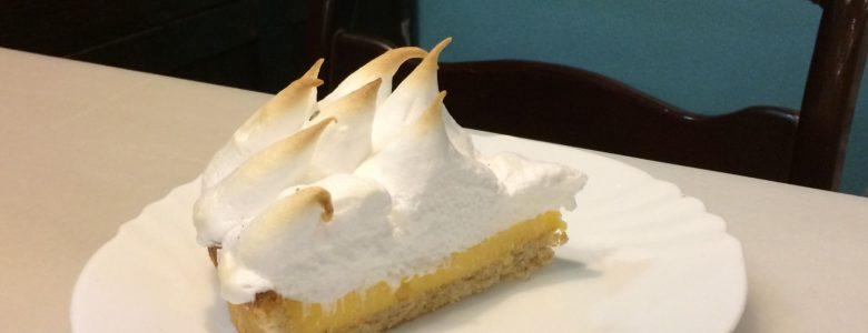 tarta de limon, merengue